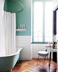 Fabulous Tricks Can Change Your Life: Teenage Bedroom Remodeling Ideas bedroom remodel for teens boy rooms.How Much Does It Cost To Remodel A 3 Bedroom House bedroom remodel diy kitchens. Bathroom Color Schemes, Teal Bathroom, Bathroom Decor, Bathrooms Remodel, Beautiful Bathrooms, House, French Apartment, Bathroom Design, Remodel Bedroom