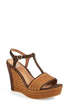 292b8fd70471 UGG® Australia  Fitchie  T-Strap Wedge Sandal (Women) available at