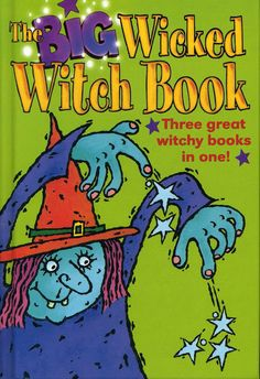"""1998 """"The Big Wicked Witch Book"""" Hippo anthology (includes """"Fisherwitch"""")"""