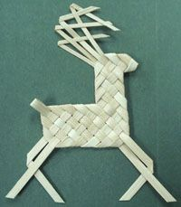 Plaited Reindeer, Horse & Giraffe, Etc. Pattern - by Wagner