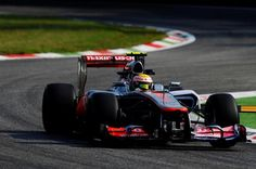 Lewis Hamilton (GBR) McLaren MP4-27.  Formula One World Championship, Rd 13, Italian Grand Prix, Practice, Monza, Italy, Friday, 7 September 2012