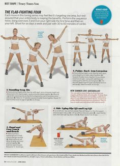 Brooklyn fit chick- tracy anderson tag