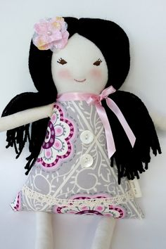 Hey, I found this really awesome Etsy listing at https://www.etsy.com/listing/90745749/handmade-cloth-doll-rag-doll-oriental