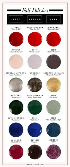 fall nail colors 2014