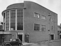 The back of Commercial Road Woolworths Hampshire Uk, Art Deco Decor, Restaurant Seating, Birds Eye View, Portsmouth, View Source, Old Photos, Interior And Exterior, Uk Board