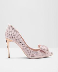 Sandalen Mit Drei Schleifen Wei 223 Schuhe Ted Baker De