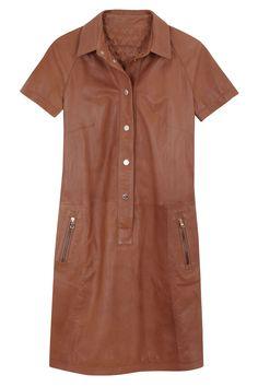 Massimo Dutti dress, $475, massimodutti.com. Courtesy  - HarpersBAZAAR.com