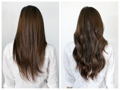 Clip in hair extensions before and after and how to do your own hair extensions with tutorial featuring The Darling Detail | Photos by Melissa Glynn Photography