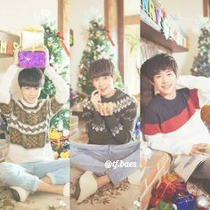 - If only I could celebrate Christmas with all of my baes.. ° ° #tfboys #wangjunkai #wangyuan #yiyangqianxi #王俊凯 #王源 #易烊千玺 #karry #roy #jackson #tfboys王俊凯 #tfboys王源 #tfboys易烊千玺 #karrywang #roywang #jacksonyi #china #中国 #boyband #handsome #popular