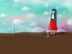 Dream of Echi - Echi Illustrations (Vol.02)   - Elegant Echi Girl - Beautiful Echi Illustration Wallpaper 20