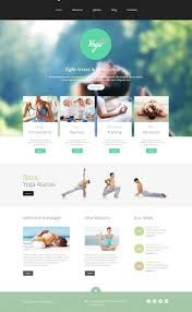 I like the layout and colours and the 4 sections to select near top - less cluttered without the middle sections of basic Yoga Asanas