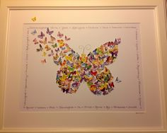Butterfly Wall Art 3D