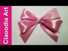 How easily do double bow with ribbon, step by step? That you will learn from this tutorial. Tie Bows With Ribbon, How To Tie Ribbon, Diy Ribbon, Ribbon Crafts, How To Make Bows, Ribbons, Christmas Tree Bows, Sewing Crafts, Diy Crafts