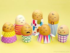 Easter Eggs Decorating Ideas via Content in a Cottage