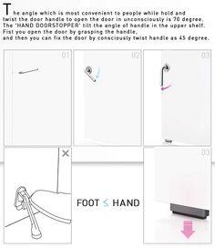5 Unusual Concept Door Handles For Unique Homes