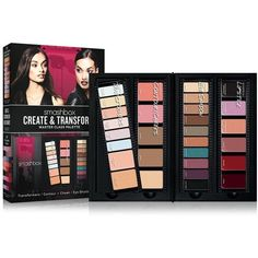 Smashbox Masterclass Create & Transform Palette ($30) ❤ liked on Polyvore featuring beauty products, makeup, face makeup, smashbox makeup, highlight makeup, smashbox, powder blush and smashbox cosmetics