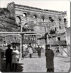 Eğrikapı Tekfur sarayı - 1900 ler