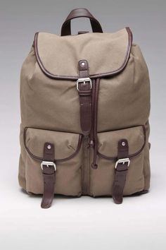 Block Canvas Backpack
