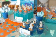 Nautical Whales & Sails Party by DesignLovesDetail.com