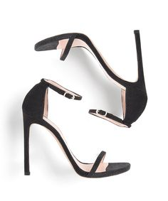 The Nudist heel from Stuart Weitzman is basically the LBD of the shoe world.