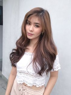 Loisa Andalio (@iamAndalioLoisa) | Twitter The Big Four, Celebs, Celebrities, Asian Beauty, Eye Candy, Dancer, Actresses, Long Hair Styles, Rivers
