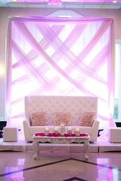 Our wedding stage designed by my nutella and me!                              …