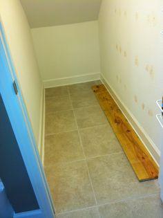 Pantry Makeover: Under the Stairs