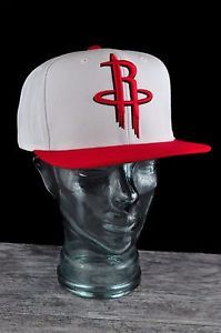 8da3954d1 Houston Rockets white red two tone snapback hat by Mitchell Ness Houston  Rockets Hat