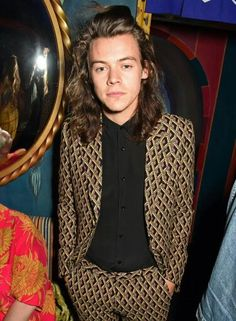 Harry styles at burburry after party
