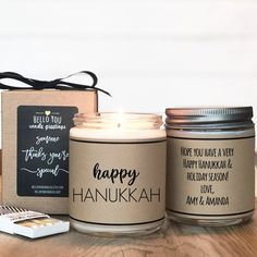 Congrats on your Happy New Home Candle Gift - Scented Soy Candle Greeting - Housewarming Gift Happy New Year Gift, Happy New Home, New Home Gifts, Holiday Candles, Home Candles, Wax Candles, Moving Gifts, Personalized Candles, Unique Candles