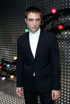 Robert Pattinson Pops Up in Paris and Mingles With Michael B. Jordan