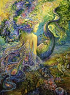 artist Josephine Wall visit me at imustbeamermaid.co and https://www.facebook.com/soulofamermaid