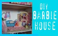 A girl and a glue gun: Barbie house