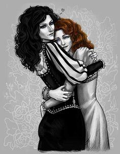 Yennefer & Triss
