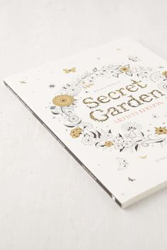 Shop Secret Garden Artists Addition 20 Drawings To Color And Frame By Johanna Basford At Urban Outfitters Today
