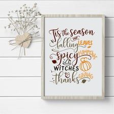 Falling Leaves Sign Fall Quotes Print Living Room Decor | Etsy Living Room Decor Etsy, Affordable Wall Art, Quote Prints, Autumn Leaves, Cool Stuff, Home Decor, Decoration Home, Fall Leaves, Room Decor