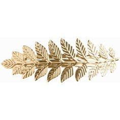 Pieces Pcpenna Hairclip ($7.90) ❤ liked on Polyvore featuring accessories, hair accessories, gold, jewelry, womens-fashion, leaf hair accessories, leaf hair clip, hair clip accessories and barrette hair clips