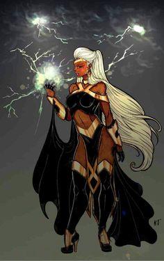 Calypso comic book character storm