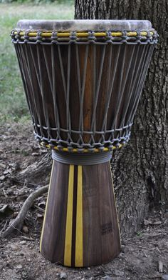 a Custom Djembe drum http://worldhanddrums.com/djembe-drums.html