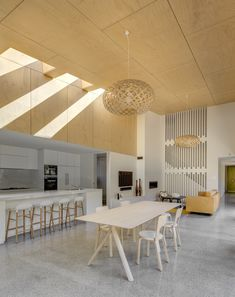 Image 2 of 17 from gallery of Randwick House / Ben Giles Architect. Photograph by Murray Fredericks Kitchen In, Rustic Kitchen, Fireclay Tile, Cuisines Design, Cool Kitchens, Modern Kitchens, Amazing Bathrooms, Interior Design Kitchen, Decoration
