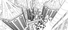 Ciudad flotante Soulweavers by 4u5.deviantart.com on @deviantART