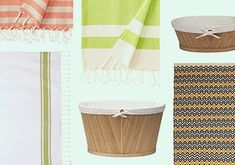 Boho Bath -   Give your bathroom an instant update with this selection of free-spirited décor pieces. Go from blah to boho chic with dimensional dhurrie rugs in organic cotton, fringe-adorned towels and natural bamboo hampers and baskets.                                                                  ...  #BathMat, #Belt, #Curtain, #Diamond, #Frame, #Mat, #Mirror, #Pin, #Rack, #Robe, #Rug, #Storage, #Throw, #Tie, #TrashCan