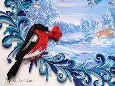 Дорогие мастерицы!Зимними <u>окна</u> вечерами потихоньку рождалась у меня вот такая картина. фото 2