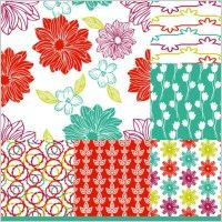 handpainted pattern background 04 vector