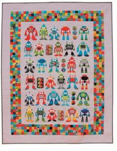 monsters quilt