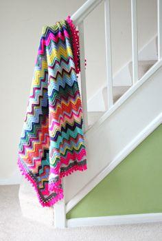 on-the-banister-my-favourite-crochet-chevron