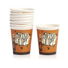Wilko Halloween Cups 8pk