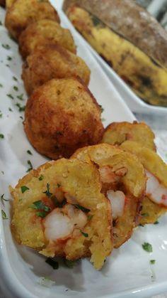Puerto Rican Recipes, Cuban Recipes, Seafood Recipes, Appetizer Recipes, Cooking Recipes, Healthy Recipes, Spanish Recipes, Spanish Food, Appetizers