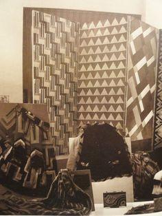 sonia delaunay - the window of atelier simultane in paris (1925)
