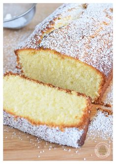 Cake Recipes For Kids, Cake Recipes From Scratch, Pound Cake Recipes, Easy Cake Recipes, Sweet Recipes, Dessert Recipes, Easy Cakes To Make, Food To Make, Best Bread Recipe